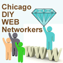 Chicago DIY WEB Networkers Meetup Group Logo