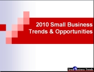 Small Business Trends and Opportunities