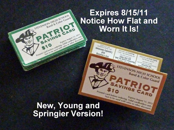 Patriot Cards Old and New