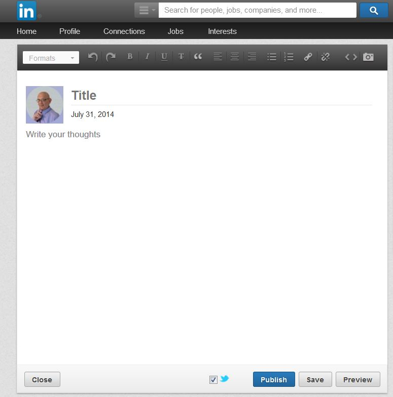 LinkedIn Publisher Can Make You An Author